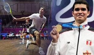 Squash: peruano Diego Elías clasificó a cuartos de final del Qatar Classic 2020