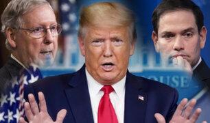 Grupo de Republicanos toma distancia de Donald Trump