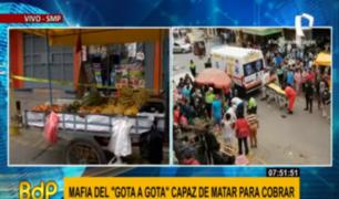 SMP: comerciantes temen regreso de mafia de prestamistas 'gota a gota' tras tiroteo