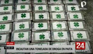 Más de una tonelada de droga era camuflada en un buque internacional