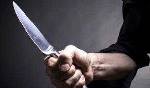 SMP: hombre fuga tras acuchillar y dejar malherida a su pareja