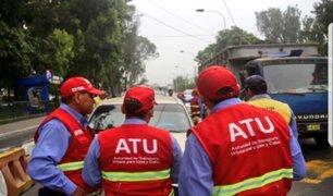 Surco: atropellan a inspector de ATU durante operativo