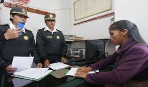 Copias de denuncias policiales podrán ser obtenidas de manera online
