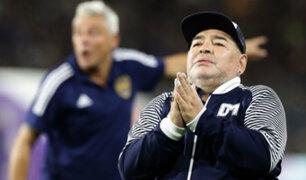 Diego Maradona sufrió episodios de abstinencia y seguirá internado varios días
