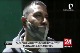 Cercado de Lima: ladrón afirma estar arrepentido y que roba por su familia tras ser capturado