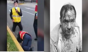Surco: colectivero que atropelló a fiscalizador de la ATU tiene 13 papeletas graves