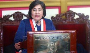 Vacancia presidencial: piden inhibición de Ledesma en demanda competencial en el TC
