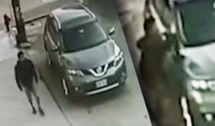 Cae ladrón de autopartes en La Victoria