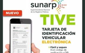 ¡Atención! Sunarp implementará entrega de tarjeta de propiedad vehicular electrónica