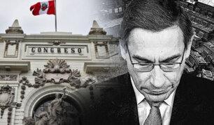 Bancadas aún no definen su postura sobre vacancia presidencial