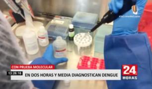 Dengue en Perú: pruebas moleculares diagnostican la enfermedad en dos horas y media