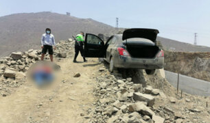 SJL: capturan a venezolano que trasladaba cadáver de hombre en un auto
