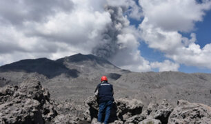 Volcán Sabancaya: proceso eruptivo ocasionó más de 230 sismos en valle del Colca