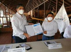 Sunarp fortalece cooperación con gobierno regional de San Martín y municipalidades