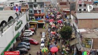 Funcionarios de Chorrillos denuncian invasión de ambulantes en zona limítrofe