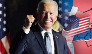 "Joe Biden juró como presidente: ""hoy la democracia ha prevalecido"""