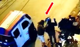 Comas: asaltan a repartidor y lo dejan sin moto