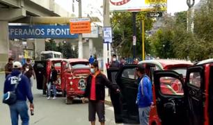 Alcalde de SJL no quiere a mototaxistas extranjeros en su jurisdicción