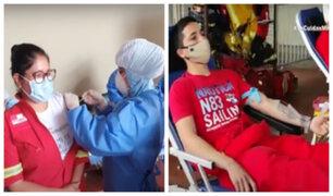 Jesús María: bomberos reciben vacuna contra la difteria y aspirantes donan sangre