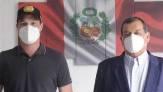 Forsyth presentó a Jorge Nieto como candidato número 1 al Congreso por Restauración Nacional