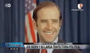 Joe Biden: la larga trayectoria política del nuevo presidente de EE.UU