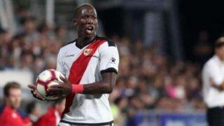 Luis Advíncula fue expulsado en el partido de Rayo Vallecano vs Almería