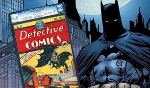 Batman: un cómic que costaba 10 centavos fue vendido por 850 mil dólares