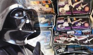 """En la basura encontraron artículos de """"Star Wars"""" de medio millón de dólares"""