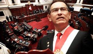 """Martín Vizcarra ante Pleno: """"68 congresistas tienen procesos en investigación y ¿deberían dejar sus cargos?"""""""