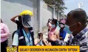 Vacuna contra la difteria: falta de información causó reclamos y desorden al interior del país