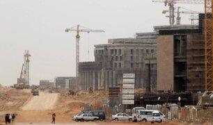 Egipto desplaza a El Cairo con construcción de nueva capital