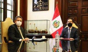 Merino envió oficios a Vizcarra y Martos para aplicar las normas de sucesión tras aprobación de vacancia