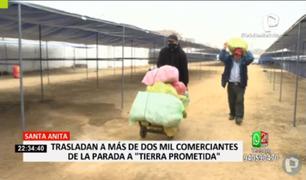 """Mercado """"Tierra Prometida"""" abrió sus puertas a comerciantes de La Parada"""
