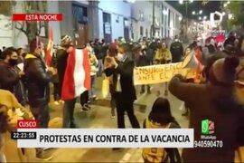 Marchas y protestas en el interior del país contra la vacancia del presidente Vizcarra