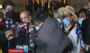 Joven agredió al congresista Ricardo Burga con un puñetazo en el rostro