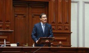 Así fue la defensa de Martín Vizcarra ante el Congreso de la República