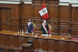 Manuel Merino juró hoy como presidente de la República