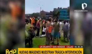 Callao: salen nuevas imágenes de intervención que dejó a un padre de familia muerto