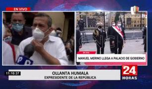 Ollanta Humala: No debemos permitir que se toque a la Sunedu y al TC