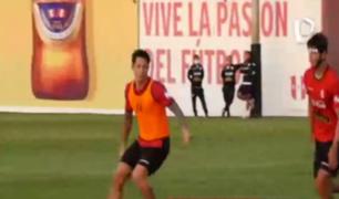 Mira aquí cómo fue el entrenamiento de Gianluca Lapadula