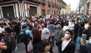 Cercado de Lima: Metropolitano desvía algunas de sus rutas por protestas contra vacancia