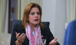 """Mercedes Araoz sobre reconocimiento de Guido Bellido: """"Fue algo fabricado"""""""