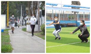 Covid-19: recomiendan realizar ejercicios al aire libre con estricta protección