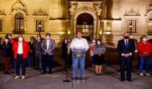 Ministros de la gestión de Martín Vizcarra se despidieron por medio de las redes sociales
