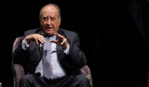 Ántero Flores-Aráoz sería el presidente del nuevo Gabinete Ministerial