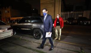 Martín Vizcarra señaló que asistirá este jueves a citación de la Fiscalía
