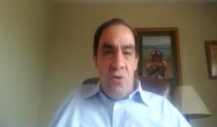Yonhy Lescano señaló que los candidatos presidenciales deben apoyar a Francisco Sagasti