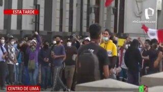 Así se desarrollaron las manifestaciones en Lima en rechazo a Merino y la vacancia presidencial