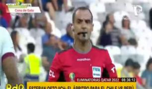 Esteban Ostojich: ¿quién es el juez que arbitrará el Perú vs Chile?