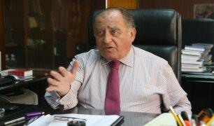 """Antero Flores-Aráoz sobre cargo de premier: """"El reto es de los valientes, no de los cobardes"""""""